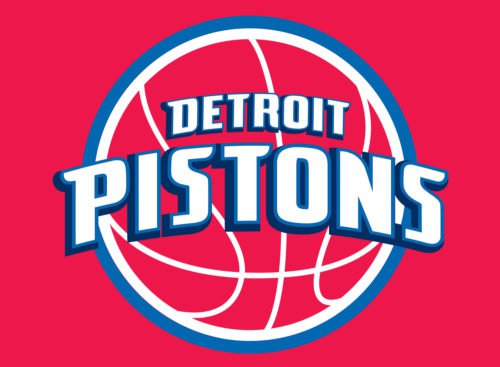 Color Detroit Pistons Logo