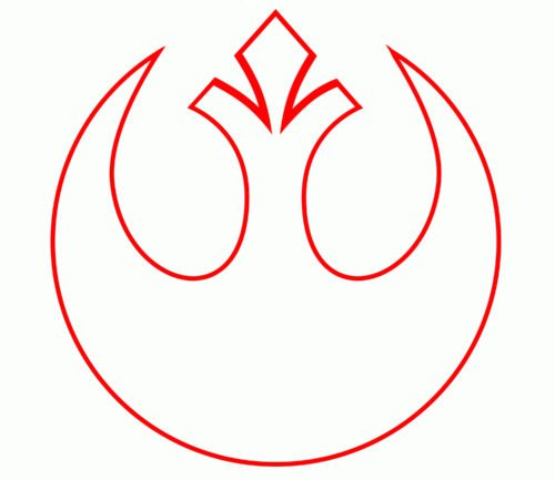 Color Rebel Alliance Logo