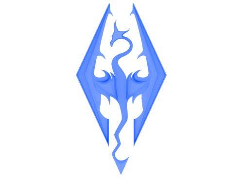 Color Skyrim Logo
