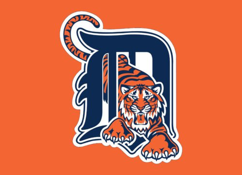 Color logo Detroit Tigers