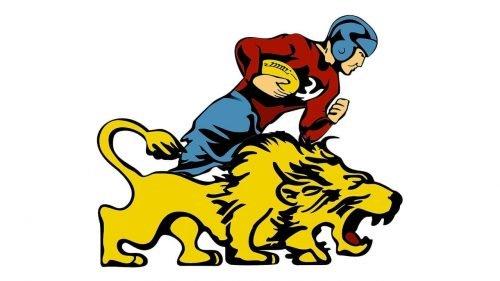 Detroit Lions Logo 1934