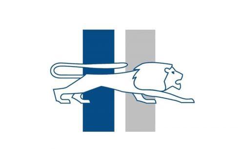 Detroit Lions Logo 1946