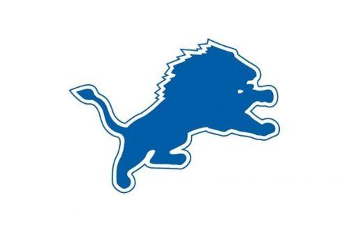 Detroit Lions Logo 1960