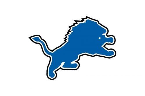 Detroit Lions Logo 2003