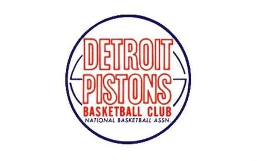 Detroit Pistons Logo 1957
