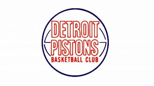 Detroit Pistons Logo 1971