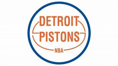 Detroit Pistons Logo 1975