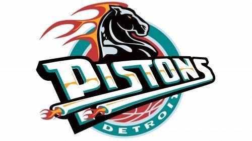 Detroit Pistons Logo 1996