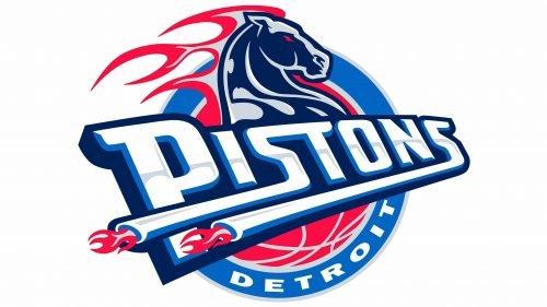Detroit Pistons Logo 2001