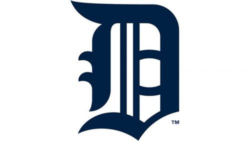 Detroit Tigers Logo 1908