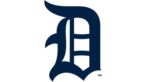 Detroit Tigers Logo 1917