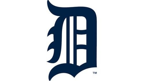 Detroit Tigers Logo 1921
