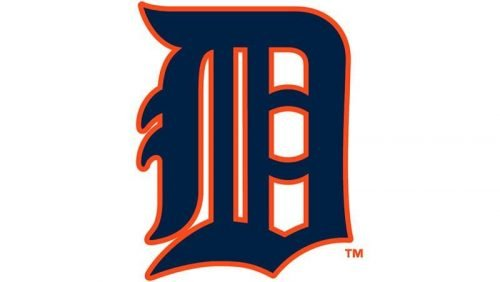 Detroit Tigers Logo 1929