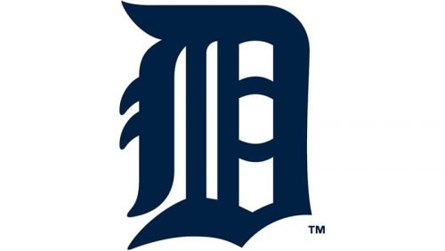 Detroit Tigers Logo 1934