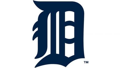 Detroit Tigers Logo 1934