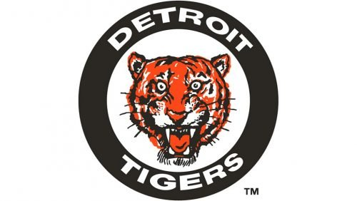 Detroit Tigers Logo 1961