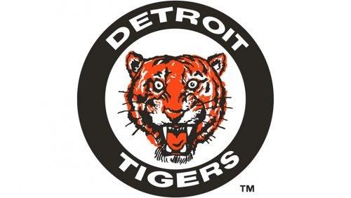 Detroit Tigers Logo 1961