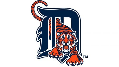 Detroit Tigers Logo 1994