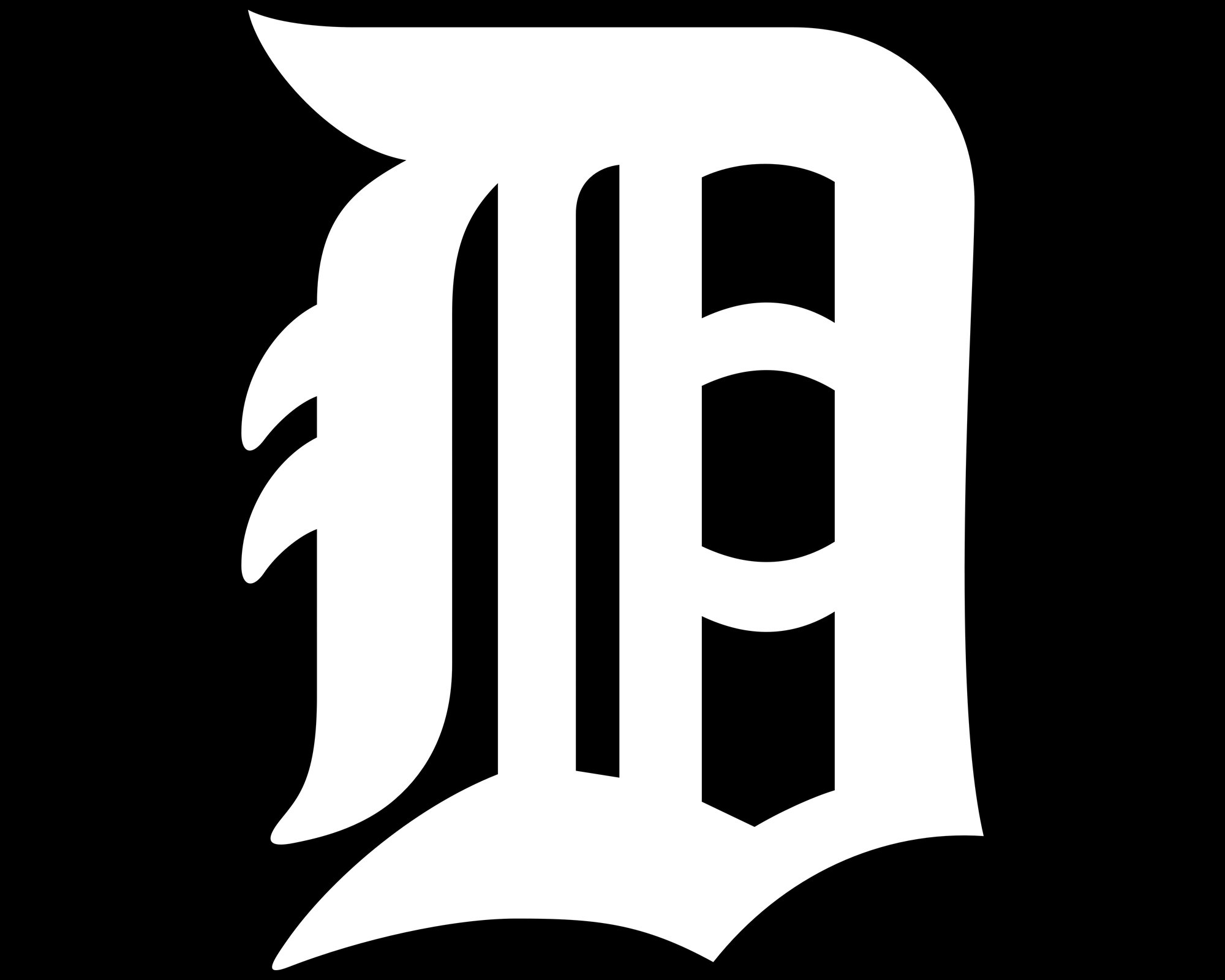 detroit tigers logo detroit tigers symbol meaning history and rh 1000logos net  detroit tigers d logo font