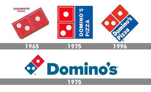 Domino's Logo history