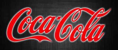 Famous brand logos Coca-Cola