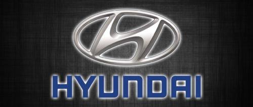 Famous brand logos: HYUNDAI