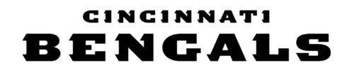 Font Bengals Logo