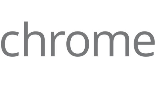 Font Chrome Logo