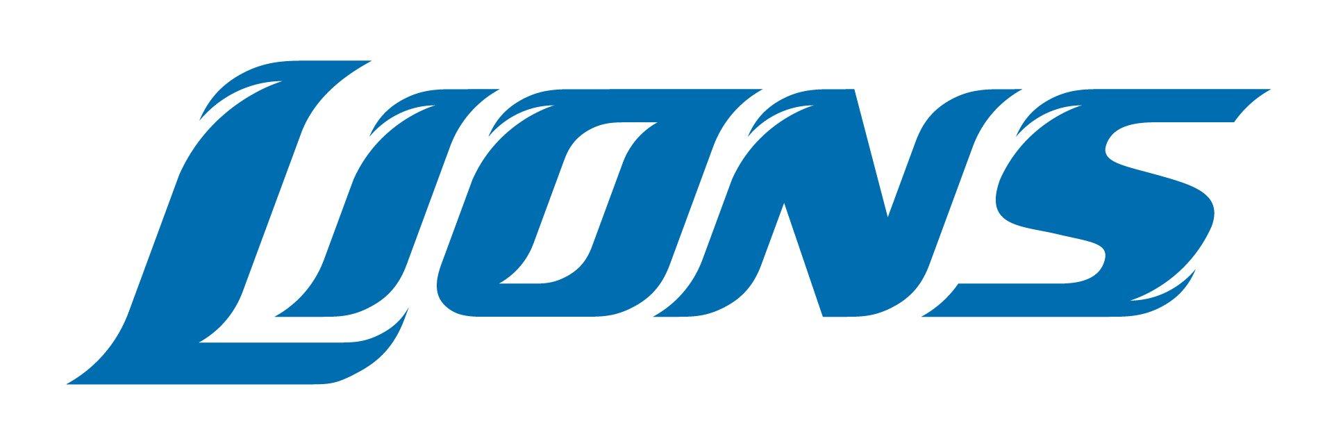 font detroit lions logo