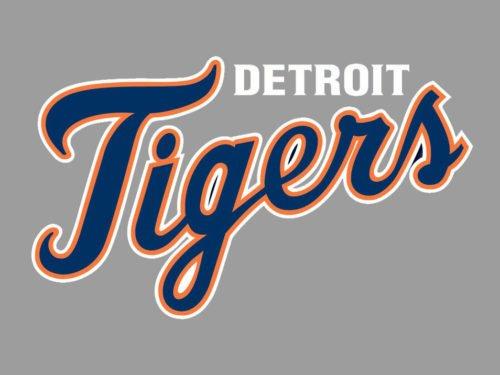 Font Detroit Tigers Logo