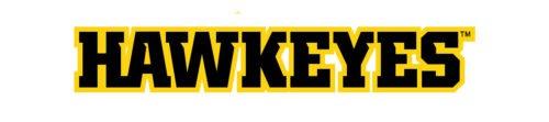Font Iowa Hawkeyes Logo