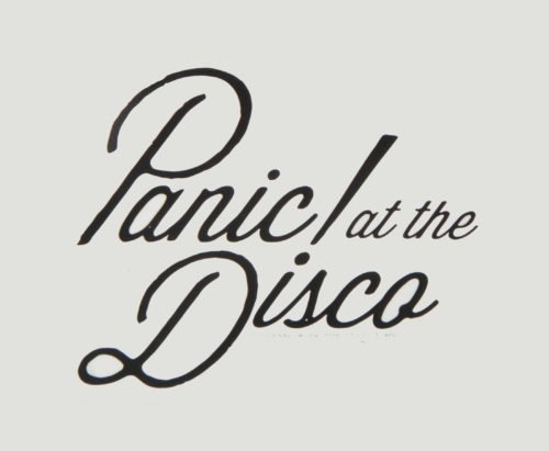 Font Panic at the Disco Logo