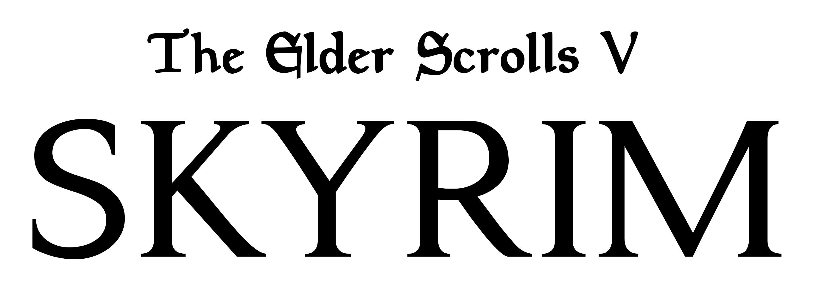 skyrim logo skyrim symbol meaning history and evolution