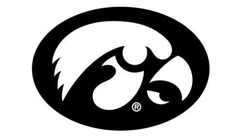 Iowa Hawkeyes basketball logo