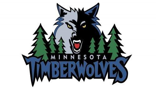 Minnesota Timberwolves Logo 1996