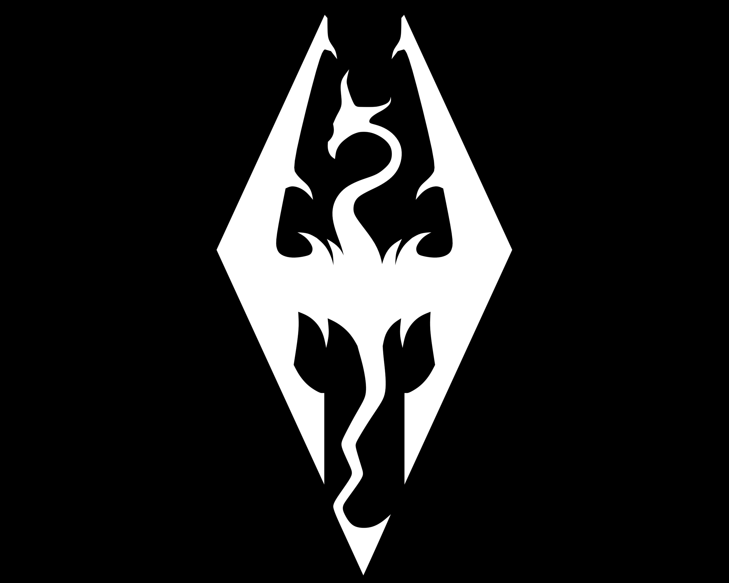Meaning Skyrim logo and symbol | history and evolution