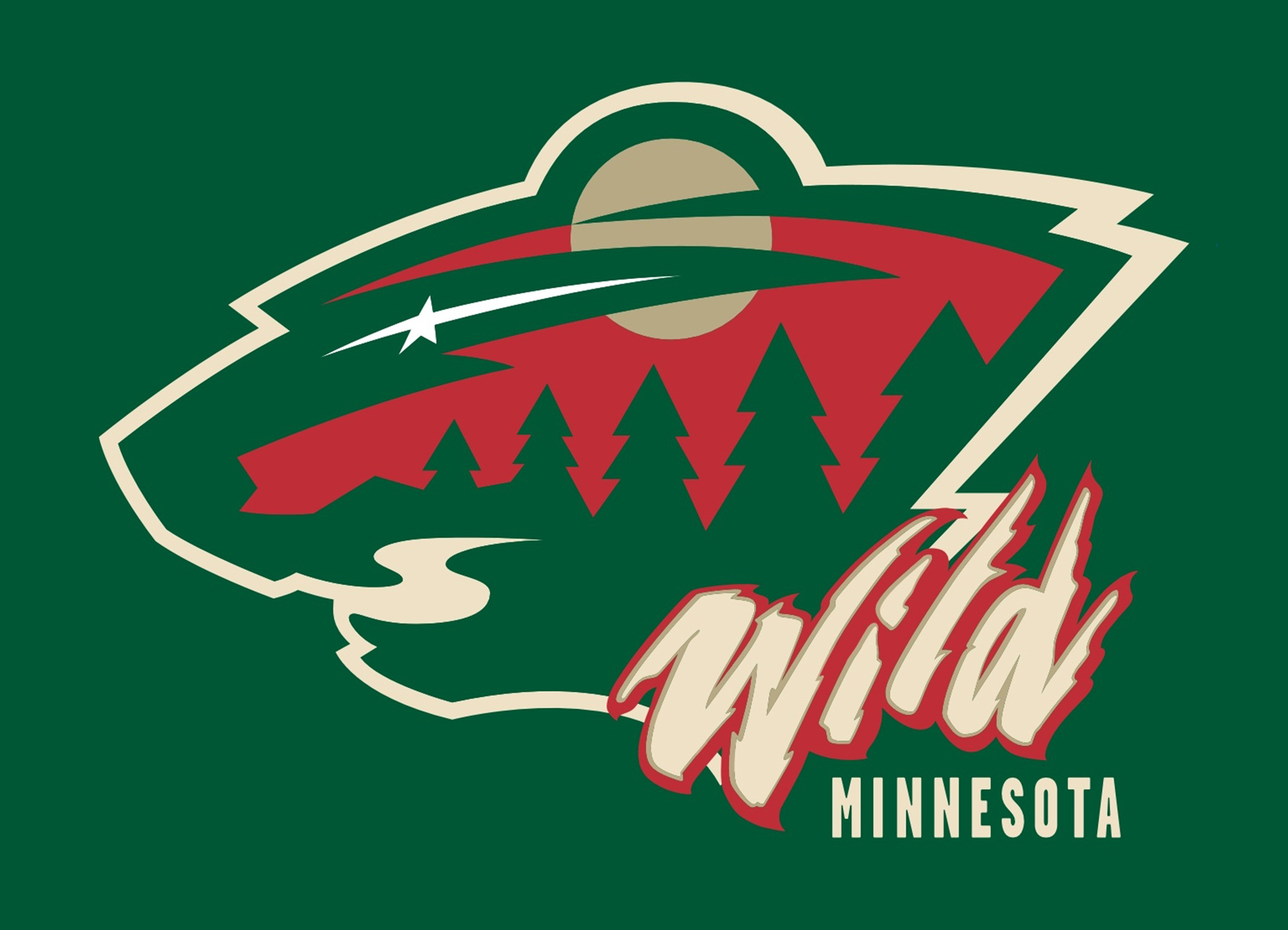 Minnesota wild logo minnesota wild symbol meaning history and evolution - Minnesota wild logo ...
