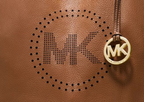 michael kors logo bag