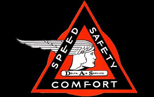 Delta Air Lines Logo 1928