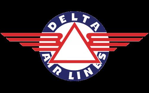 Delta Air Lines Logo 1934-1951