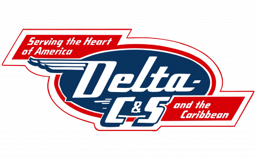 Delta Air Lines Logo 1953