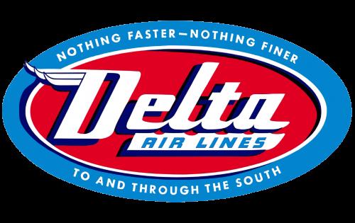 Delta Air Lines Logo 1955