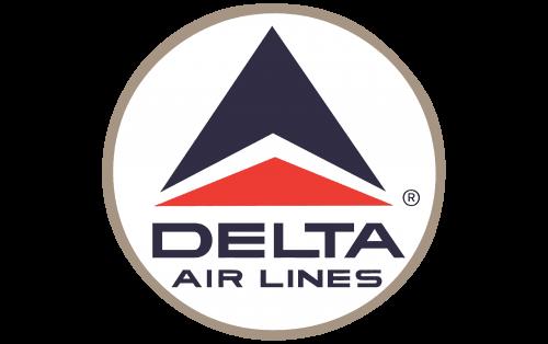 Delta Air Lines Logo 1963-1993