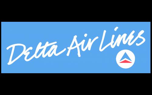 Delta Air Lines Logo 1985