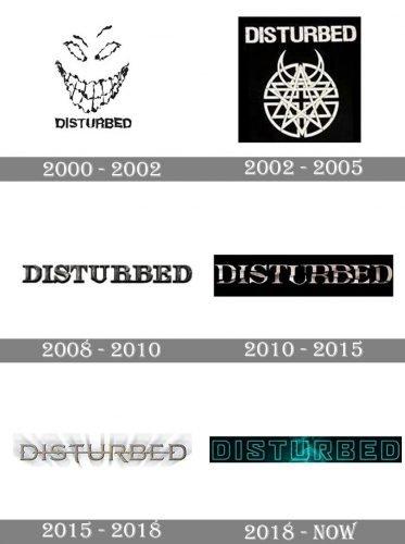 Disturbed Logo history