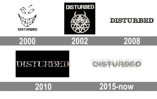 Disturbed Logo history