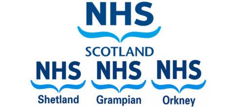 NHS symbol in Scotland