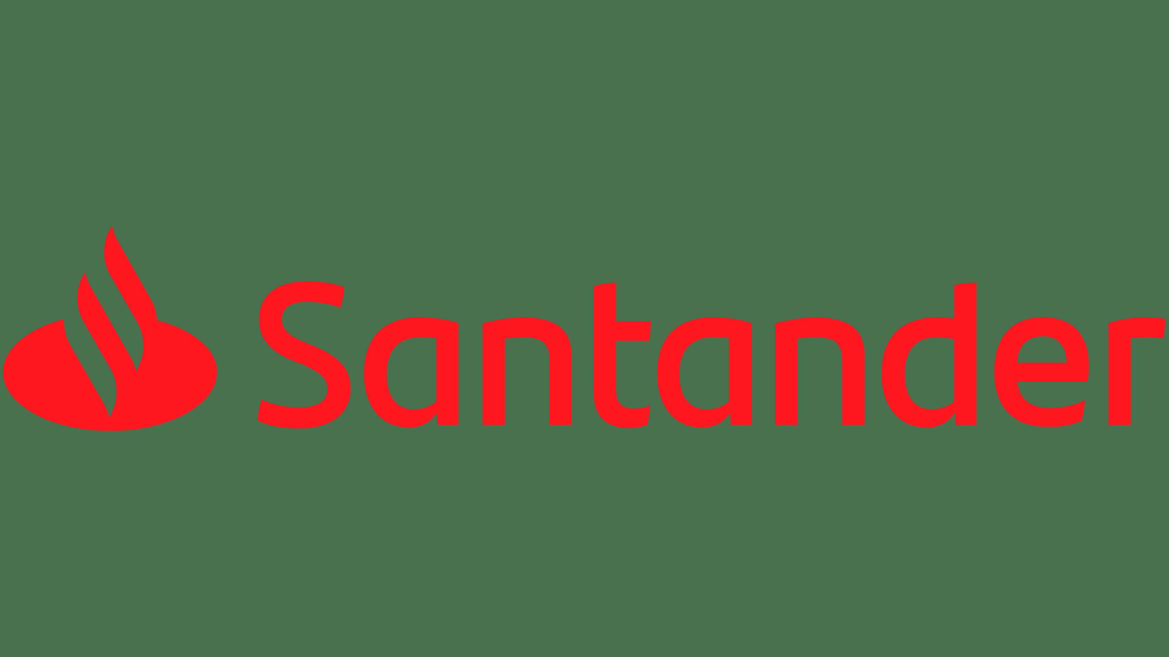 Santander logo santander symbol meaning history and - Be up santander ...