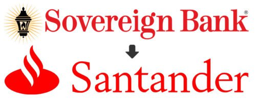 Sovereign Bank logo history