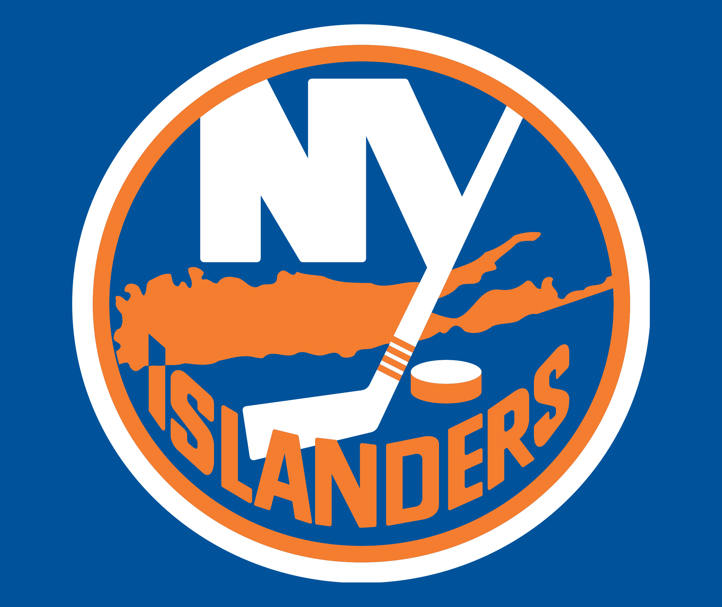 New York Islanders Official Colors